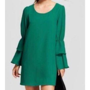 A New Day Emerald Green Bell Dress